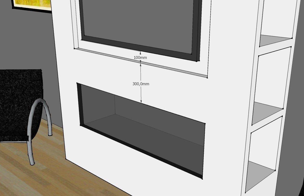 Super Is het mogelijk om een televisie boven een haard te plaatsen? &WL12